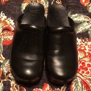 Black Dansko Slides